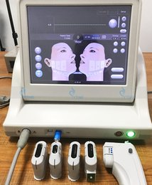 Wholesale Wrinkles Machine - hifu high intensity focused ultrasound face lift hifu machine hifu skin tightening machine anti wrinkle 5 cartridges