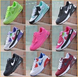 Wholesale Patchwork Boots - 2016 NEW AIR 90 HUARACHE SNEAKERS MEN WOMEN RUNNING SHOES Breathable Leisure SPORTS SHOES BOOTS Black whithe Free shipping