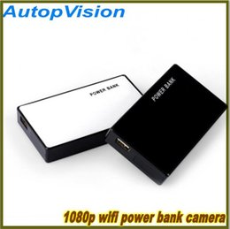 Wholesale Power Hidden Camera - FULL HD Z13 H.264 1080p mini camera power bank dvr wifi wireless remote monitor Spy Hidden Camera for Mobile phone