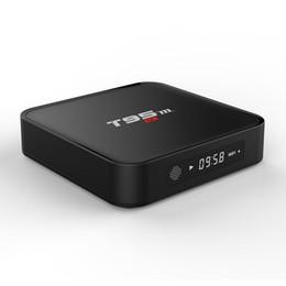 Wholesale Wifi Display Tv Box - T95M tv box Amlogic S905X 2.4GHz WIFI Android 6.0 Quad Core Mali-450 LED display VS MXQ PRO