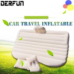 Wholesale Air Beds Mattresses - Car Back Seat Cover Air Mattress Travel Bed Inflatable Mattress Bed Good Quality