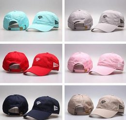 Wholesale outdoor summer hats for men - Brand Design Diamond Visor Hip Hip Snapback Hats For Men Summer Cotton Baseball Cap Outdoor Women Peaked Cap Sports Flat 6 panel Caps