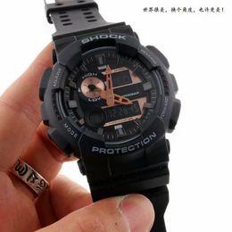 Wholesale Men S Watches Date - Popular Mens Summer G Sports GA110 Watches LED Waterproof Climbing Digital S Shock Men 100 Watch All Pointer Work Original Box Drop Shipping
