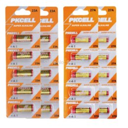 Wholesale A23 Battery Free Shipping - 20Pcs*PKCELL 23A 12V Battery Alkaline Batteries MN21 A23 12V Batteries batteries free shipping battery junction free shipping