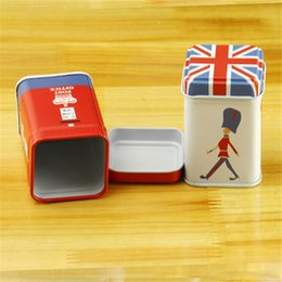 Wholesale British Crown - London style Mini Tea Candy box British style crown cartoon small box storage boxes household goods storage container