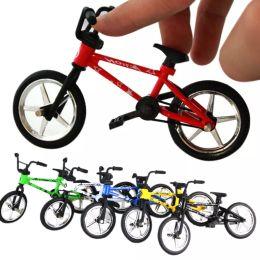 Wholesale Toy Bmx Finger Bikes - Mini BMX Bicycle Toy Excellent Finger Mountain Bike Creative Gift Workmanship Durable Bike Baby Children Toy FJ88