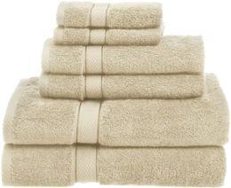 Canada Ensemble de serviettes de toilette pour débarbouillettes pour le bain, 6 pièces, 725 grammes, 100% coton égyptien Offre