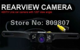 Wholesale Cheap Night Vision Security Cameras - car auto vehicle IR Back Up Night Vision Car Reverse rearview Rear View Camera DVR Cheap dvr camera security