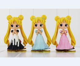 Wholesale Pluto Moon - Sailor Moon Q Posket Queen Jupiter Venus Pluto Sailor Moon Action Figure Dolls 15CM Free Shipping
