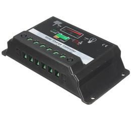 Wholesale 24v 12 Regulator - Big Promotion Digital PWM 10A Solar Kits Panel Battery Regulator Charge Controller 12 24V