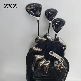 Wholesale Women S Golf Clubs - Wholesale- men or women golf driver +golf fairways woods+irons+putter golf club complete sets G30 R15 M2 M1 aeroburneo 917D2 golf clubs