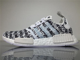 Wholesale Lace Table Runners Wholesale - 2017 Originals Nmd Shoes Fear of God X NMD Real Boost BA7247 Sneakers Men FOG Running Shoes NMD Runner with Original Box Boosts