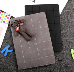 Wholesale Grid Pattern Plaid - Grid Pattern Leather Stand Case Cover For Apple Ipad Mini 1 2 3, ipad air 1 2