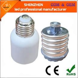 2019 extensor e27 E26 E27 Bases de lámpara Nuevo LED Bombilla halógena CFL E40 a E27 Adaptadores de lámpara Convertidores E39 E40 zócalo de luz de calle de maíz