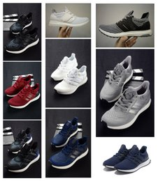 Wholesale Cheap Soft Fabric - Ultra Boost Multicolor 2.0 Running Shoes Mens and Womens Sneakers Soft Walking Shoes Discount Cheap Causal Shoes Sneakers