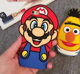 Wholesale Despicable Iphone 3d - Silicone Case 3D Cute Cartoon Animal Series Despicable Me II Minions Soft Silicone Case For Iphone 5 6 6Plus