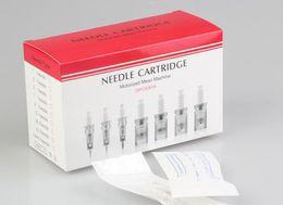 Wholesale Derma Pen Cartridges 12 - 1 3 5 7 9 12 36 42 pins Needle Cartridge for Auto Derma pen Micro Needle DR. Pen For Dermapen 25pcs