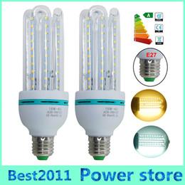 Wholesale Bulb Corn Led 16w - E27 B22 16W 2835 SMD 80LED White Warm White LED Corn Light Bulbs U Shape Lamp Energy Saving for the indoor lighting