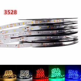 Wholesale Tiras Led Neon - 5M 300LEDs Non-Waterproof 3528 SMD DC 12V Neon Tiras LED Strip Light Flexible LED Light Ribbon Lamp