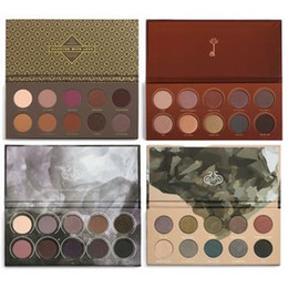 Wholesale Golden Long - Z0 EVA Nake Eyeshadow Palette Mixed Metals Cocoa Blend Rose 10 Color Golden New Collection Eye Shadow Makeup FAST Ship
