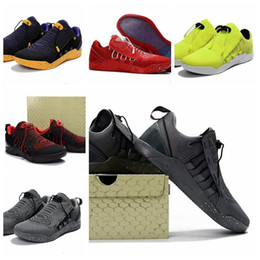 Wholesale Kd Low Tops - Classic Basketball Shoes Hyperdunk 2017 Low EP for Top quality Paul George James KD Kobe USA BHM Woven Training Sports Sneakers US Size 7-12