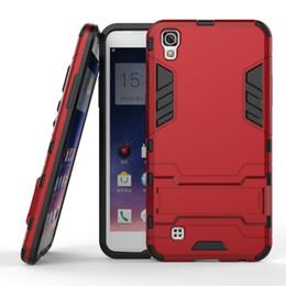 Wholesale Defender Case Galaxy - For Samsung Galaxy S8 S8 PLUS J7 2017 A720 C9 C9 PRO LG G6 Hybrid KickStand Anti Shock Defender Armor Case TPU+PC cover 100pcs lot