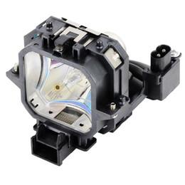 Spedizione gratuita ELPLP21 / V13H010L21 Lampada di ricambio per proiettore EPSON EMP-53 / EMP-73 / PowerLite 53c lampadina di alta qualità con custodia 180D Warr cheap epson replacement da sostituzione di epson fornitori