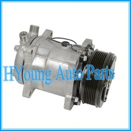 Wholesale Auto Air Condition Compressor - High quality new Sanden 508 6629 4514 SD5H14 auto air conditioning compressor Four Seasons 58592