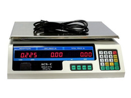 Wholesale Digital Price Weighting - 60 LB Digital Scale Price Computing Deli Food Produce Electronic Counting Weight