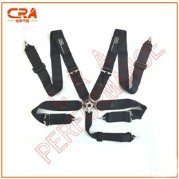"Wholesale Black Race Harness - CRA Performance-FIA 2019 Spar** Black 3"" 3 inch 5 points Quick Release Racing Safety Belts Racing Harness"