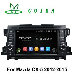 Wholesale Media Player For Chinese Tv - Quad Core Android 5.1 Double Din Car DVD For MAZDA CX-5 2012-2015 Radio GPS WIFI 3G OBD DVR RDS BT IPOD 1024*600 Touch Screen Media Player