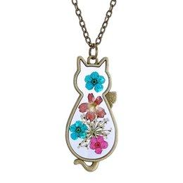 Wholesale hot korean girls - 2016 Spring models retro sweater chain necklace Korean version of the herbarium for boy and girl hot selling160521