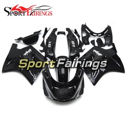 Wholesale Kawasaki Zx11 - Fairings For Kawasaki ZX11 ZZR1100D 93 94 95 96 97 98 99 00 01 02 03 1993 - 2003 ABS Injection Motorcycle Fairing Kit Cowling Black