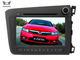 Wholesale Honda Civic Map Dvd - 4UI intereface combined in one system CAR DVD PLAYER FOR Honda CIVIC Right 2012 2013 Bluetooth GPS NAVI RADIO camera stereo MAP