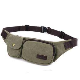 Wholesale Chest Bags For Men - 2017 Canvas Men Waist Bags Women Fanny Chest Pack Portable Men Belt Bags Travelling Phone Waist Pack For Key Male Bum Bag Casual