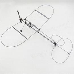 Wholesale Airplane Bnf - Hot sale Tygzs Black Flyer V1 2.4G 6CH Carbon Fiber Film RC Model Airplane Plane BNF