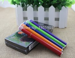 Wholesale Shisha Diamond - Wholesale-Mixed Flavors Portable E Hookah Disposable Pen E Shisha with Diamond Electronic Cigarette 500puffs 5pcs pack