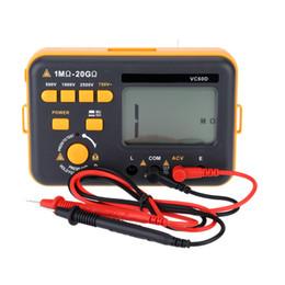 Wholesale Digital Insulation Resistance Tester Meter - Digital Insulation Resistance Tester Megger Megohm Testing Meter LCD Display 500V   1000V   2500V