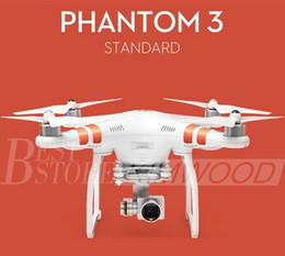 Wholesale quadcopter uav - 100% Authentic DJI Phantom 3 UAV Professional Advanced Stardard Quadcopter Drone with 4K HD Video Camera Top Quality Shipout Within 1 day