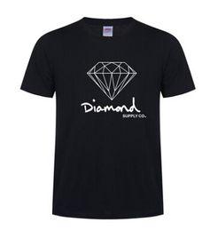roupas de diamante Desconto Novo Verão Algodão Camisas Dos Homens T Moda Curto-luva Impresso Diamante Fornecimento Co Masculino Tops Tees Skate Marca Hip Hop Roupas Esportivas