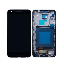 Numériseur d'écran nexus lcd en Ligne-LCD d'origine pour LG Google Nexus 5X H790 H791 à écran tactile LCD avec convertisseur analogique / numérique d'assemblage de remplacement complet sans cadre