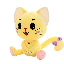 """Wholesale Doll More - Cute cat more expressions pp cotton plush toy kids plush dolls animal stuffed toys 35cm 13.8"""""""
