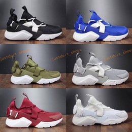 Wholesale White Leather Boots For Women - 2017 New Air Huarache Ultra BR 5 V Running Shoes For Men Women,Green Black Sneakers Womens Huaraches Trainers Boot huraches Sports Shoes