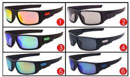 Wholesale Mirrored Fishing Sunglasses - free shipping Men Mirror Coating Outdoor Glasses crankshaft MAN sport sunglasses WOMAN unisex acetate uv400 goggle Driving Fishing glasses