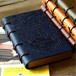 Wholesale Wholesale Book Bands - Wholesale- New High Quality Creative bands Vintage Pu Leather NoteBook School Note Book travel Daily notebooks 246