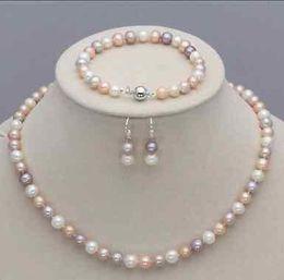 collier de perles de collier de perles de perle pourpre véritables naturelles véritables naturelles ? partir de fabricateur