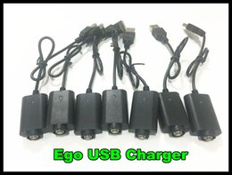 Canada Newset Ego Charger Cigarette Electronique Ecig Chargeur USB pour ego c twist evod Batterie Ego Blanc Noir Chargeur USB Free DHL Offre
