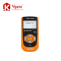 Wholesale Odb Ii Scanner - Wholesale-2016 Hot Selling Vgate VS550 Automotive CAN ODB II 2 OBD2 OBDII Diagnose Code Reader Scanner Scan tools
