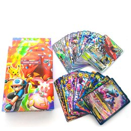 Wholesale Free Games Ships - 2017 New English POKE GX Trading Card 20 Card For TCG Cards Games KIDS TOY AS A GIFT Free Shipping