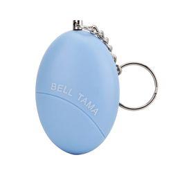 Wholesale Decibel Alarm - Personal Alarms Bell Tama Loud Safe Stable 120 Decibels Mini Portable Keychain Alarm Safe Panic Anti Rape Attack Safety Security